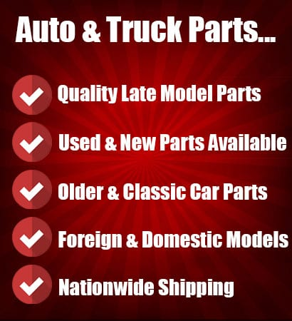 used car and truck parts for sale at salvage yard in caseyville il