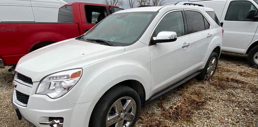 2015 chevrolet equinox ltz rebuilt car for sale near caseyville illinois